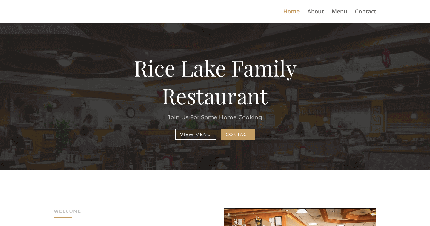 Rice Lake Family Restaurant Screenshot